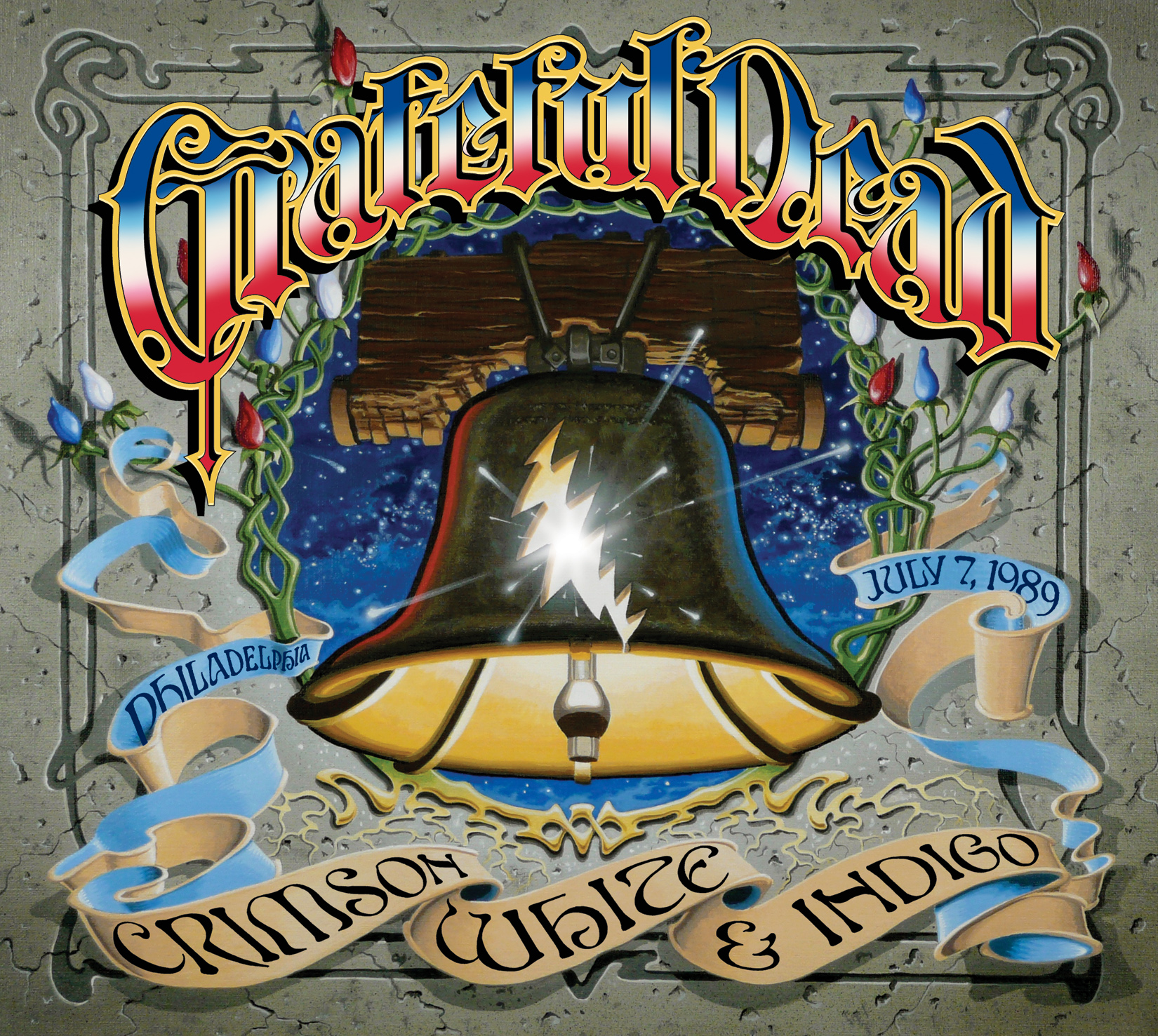 Grateful Dead Crimson White and Indigo
