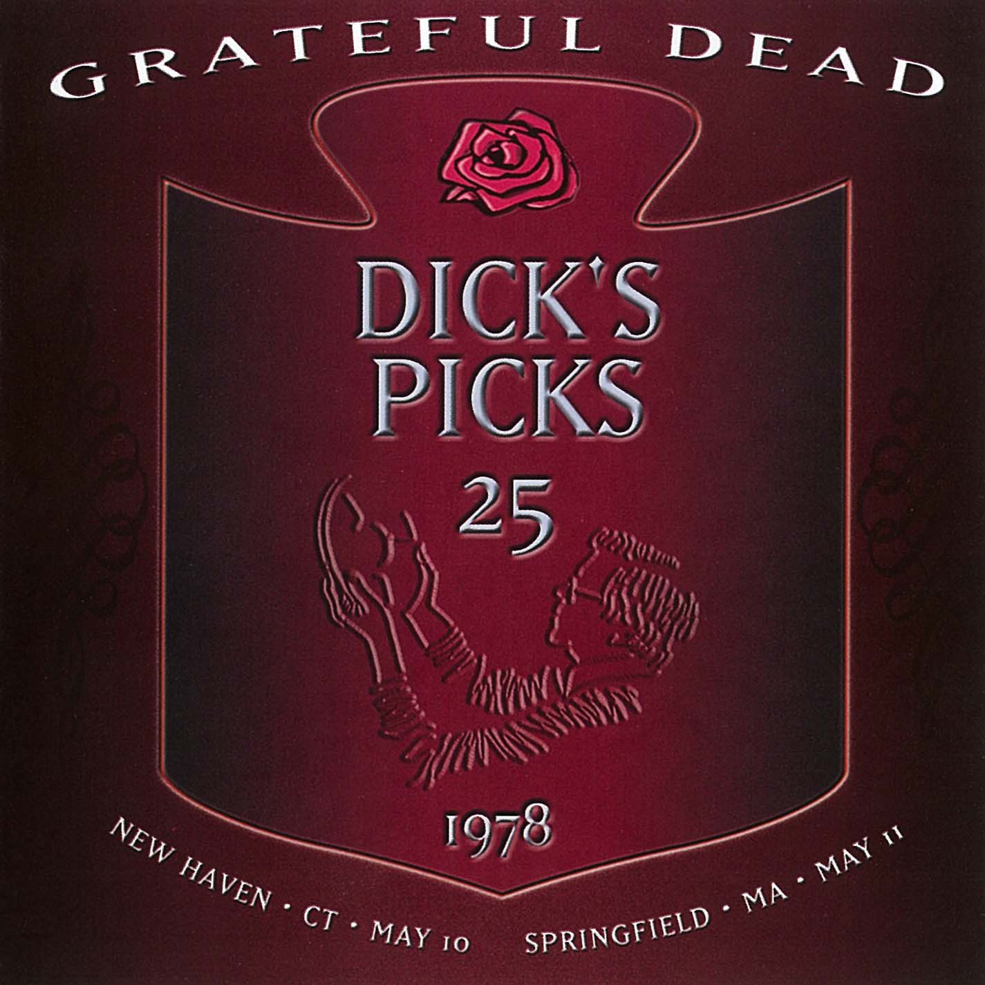Grateful Dead Dick's Picks 25 album cover artwork