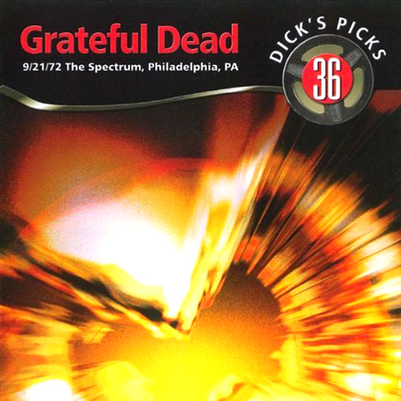 Grateful Dead Dick's Picks 36 album cover artwork
