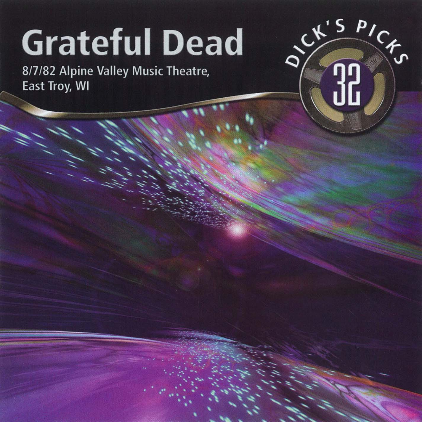Grateful Dead Dick's Picks 32 album cover artwork