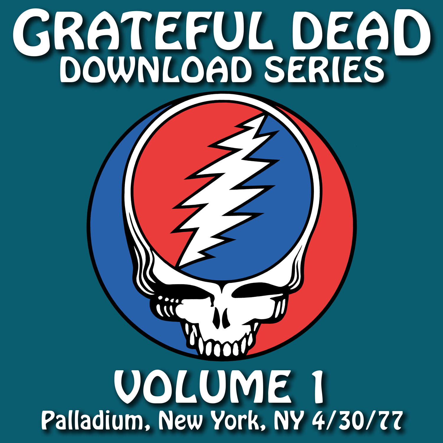 Grateful Dead Download Series 1 album cover artwork