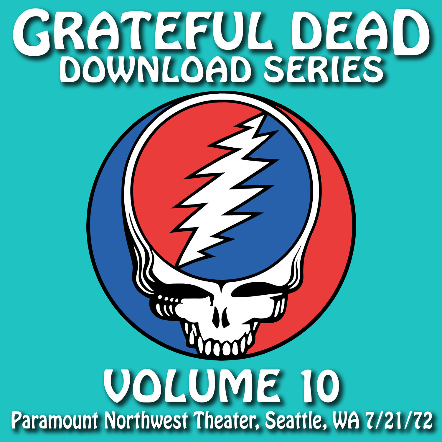 Grateful Dead Download Series 10 album cover artwork