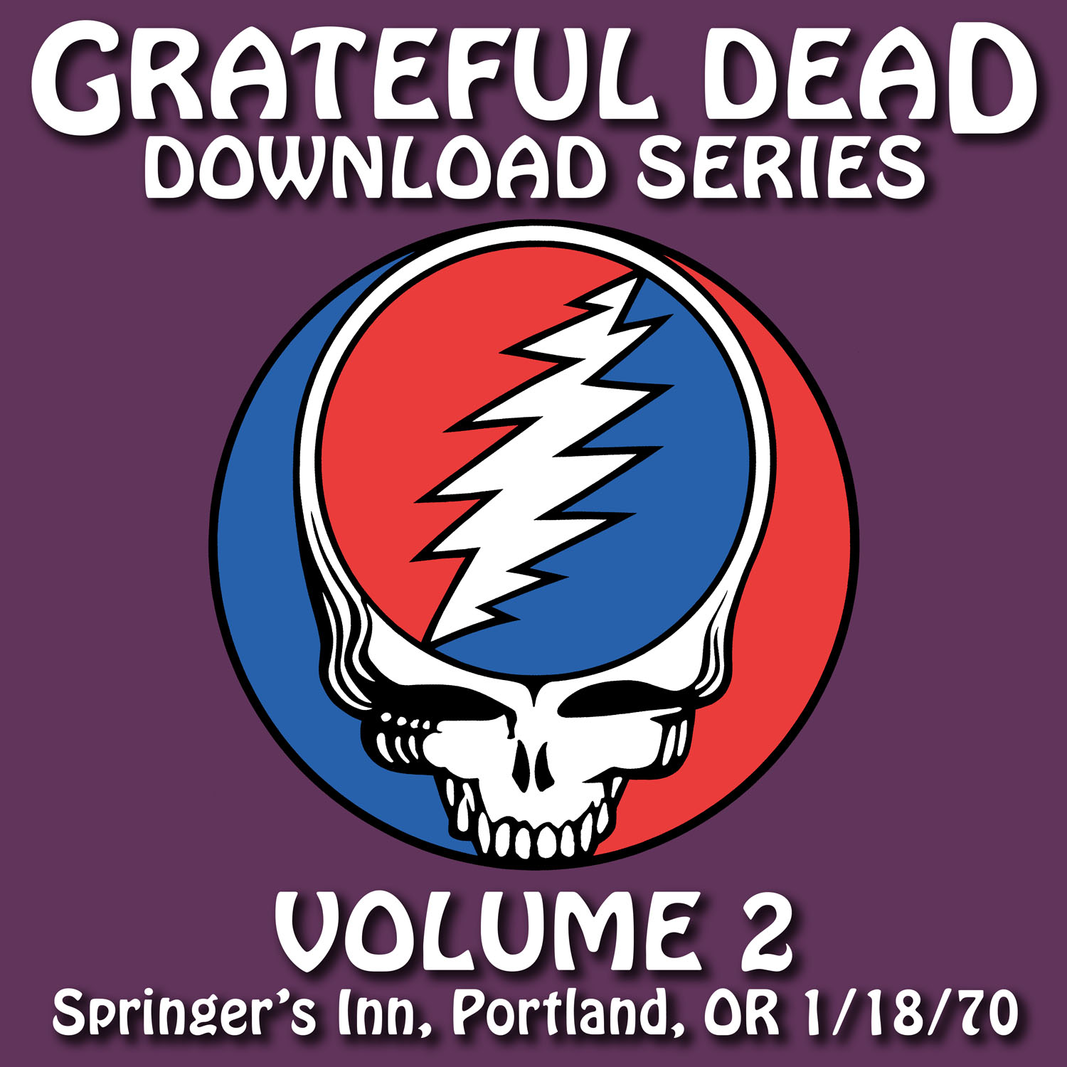 Grateful Dead Download Series 2 album cover artwork