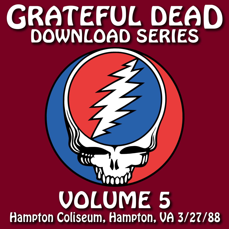 Grateful Dead Download Series 5 album cover artwork