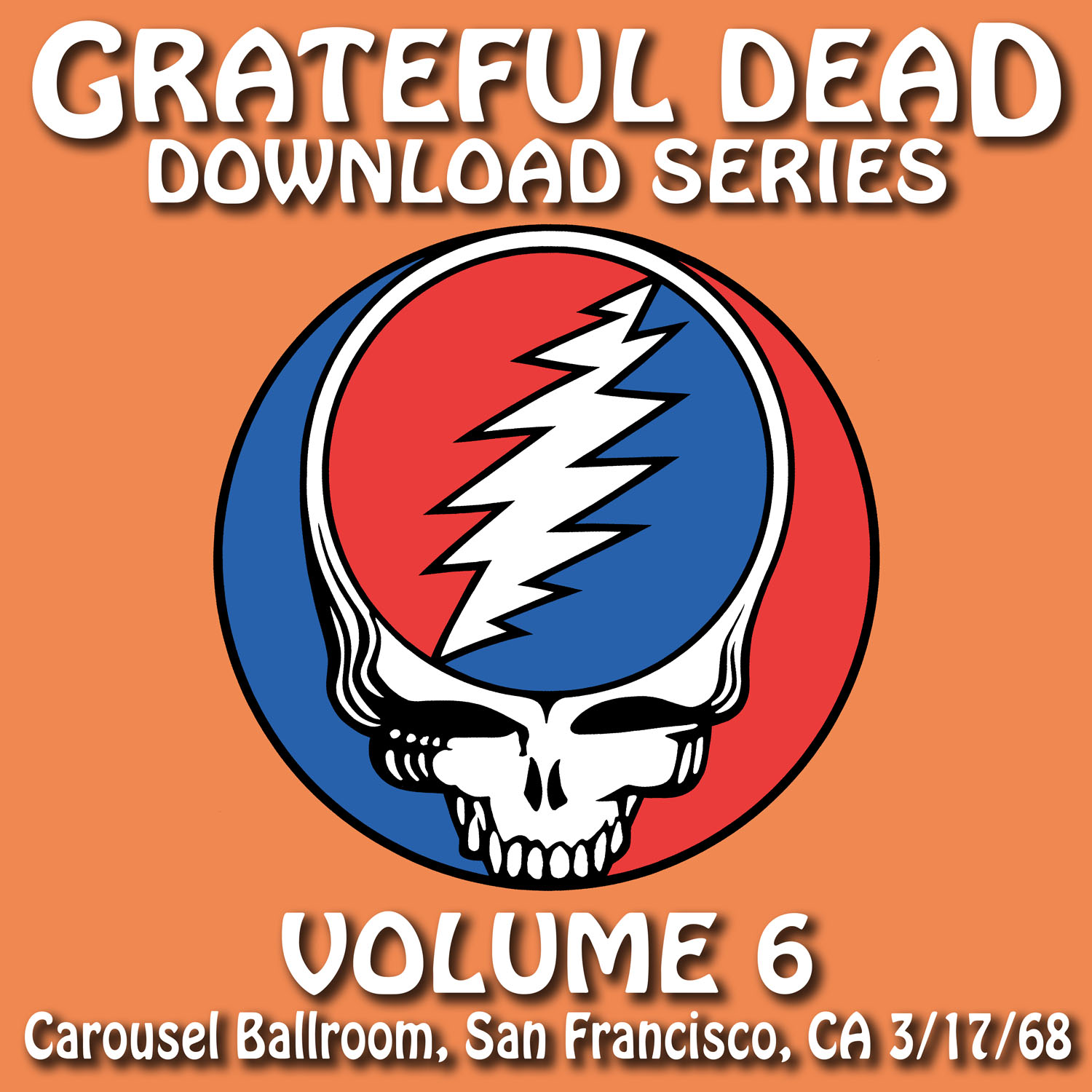 Grateful Dead Download Series 6 album cover artwork