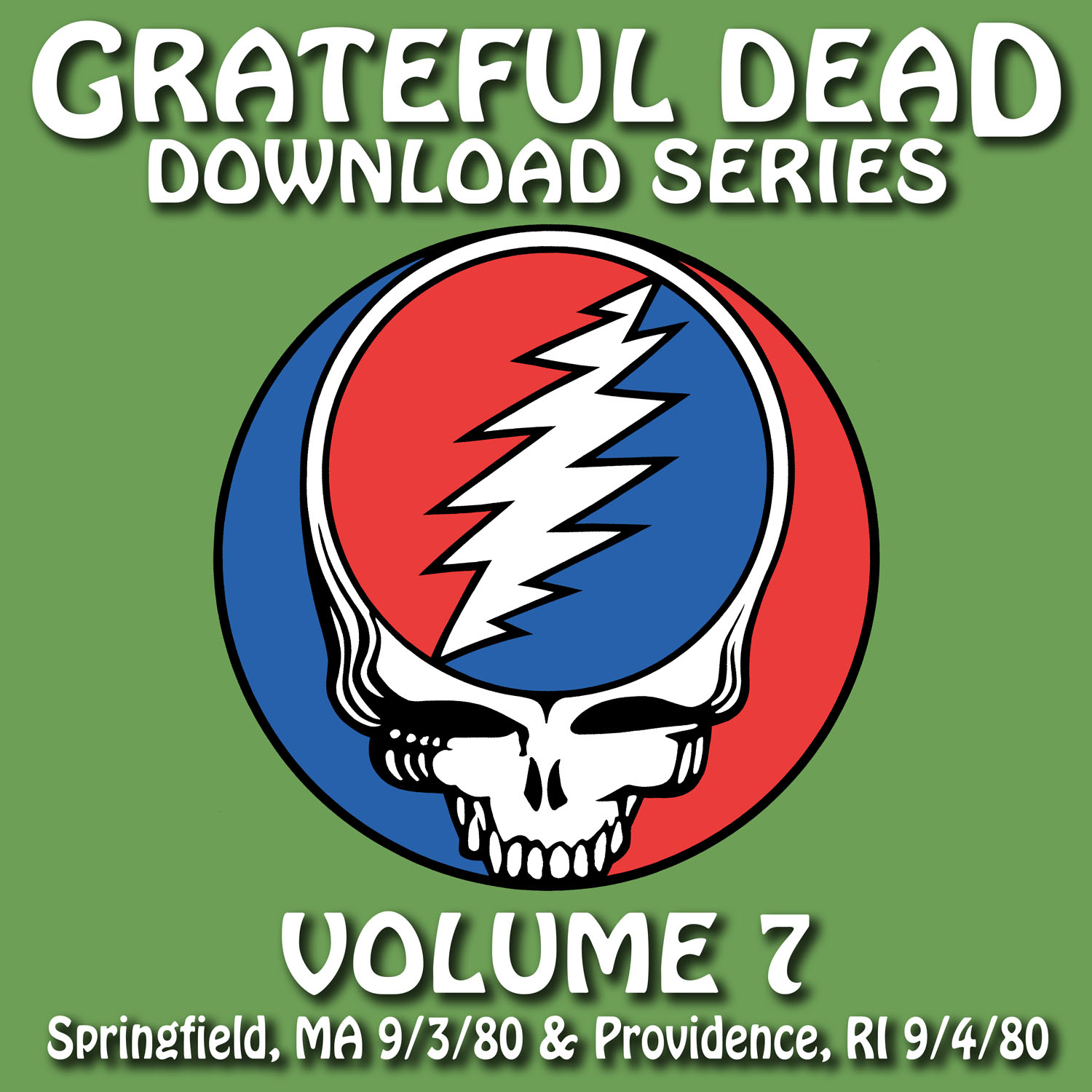 Grateful Dead Download Series 7 album cover artwork