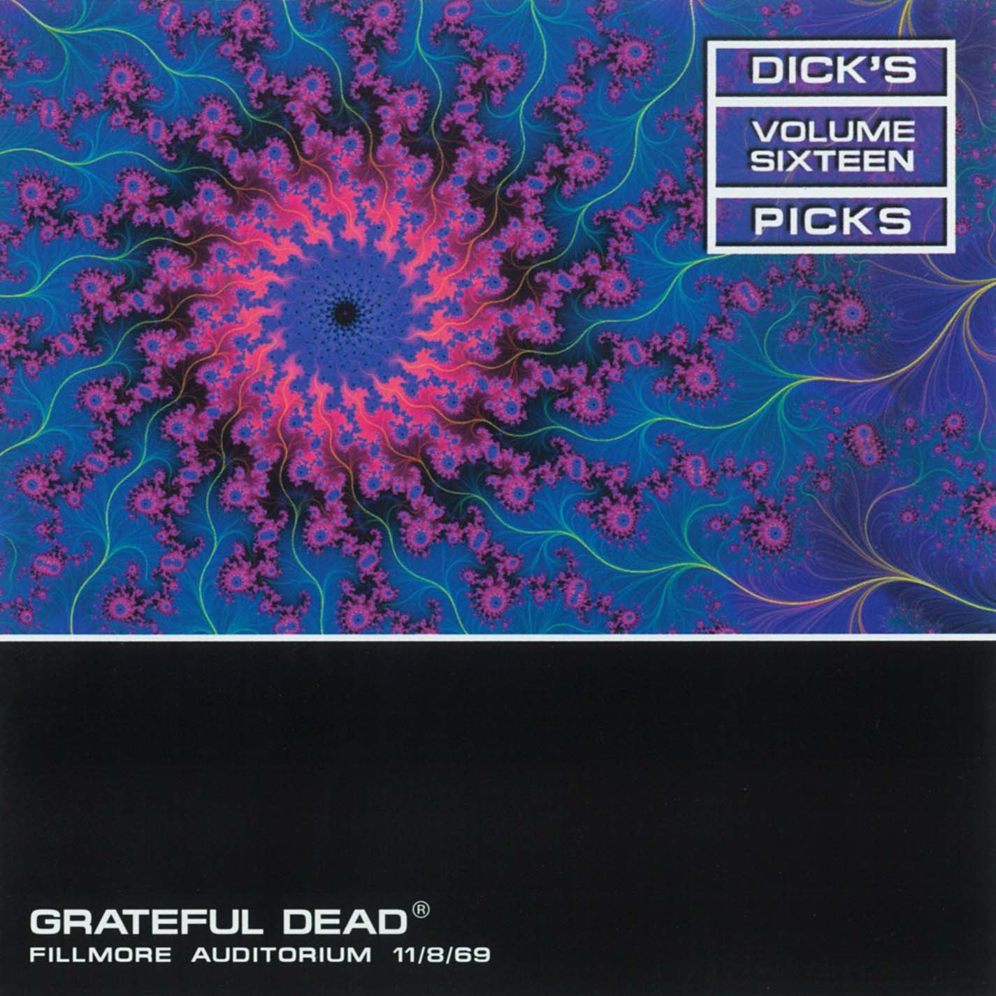 Grateful Dead Dick's Picks 16 album cover artwork
