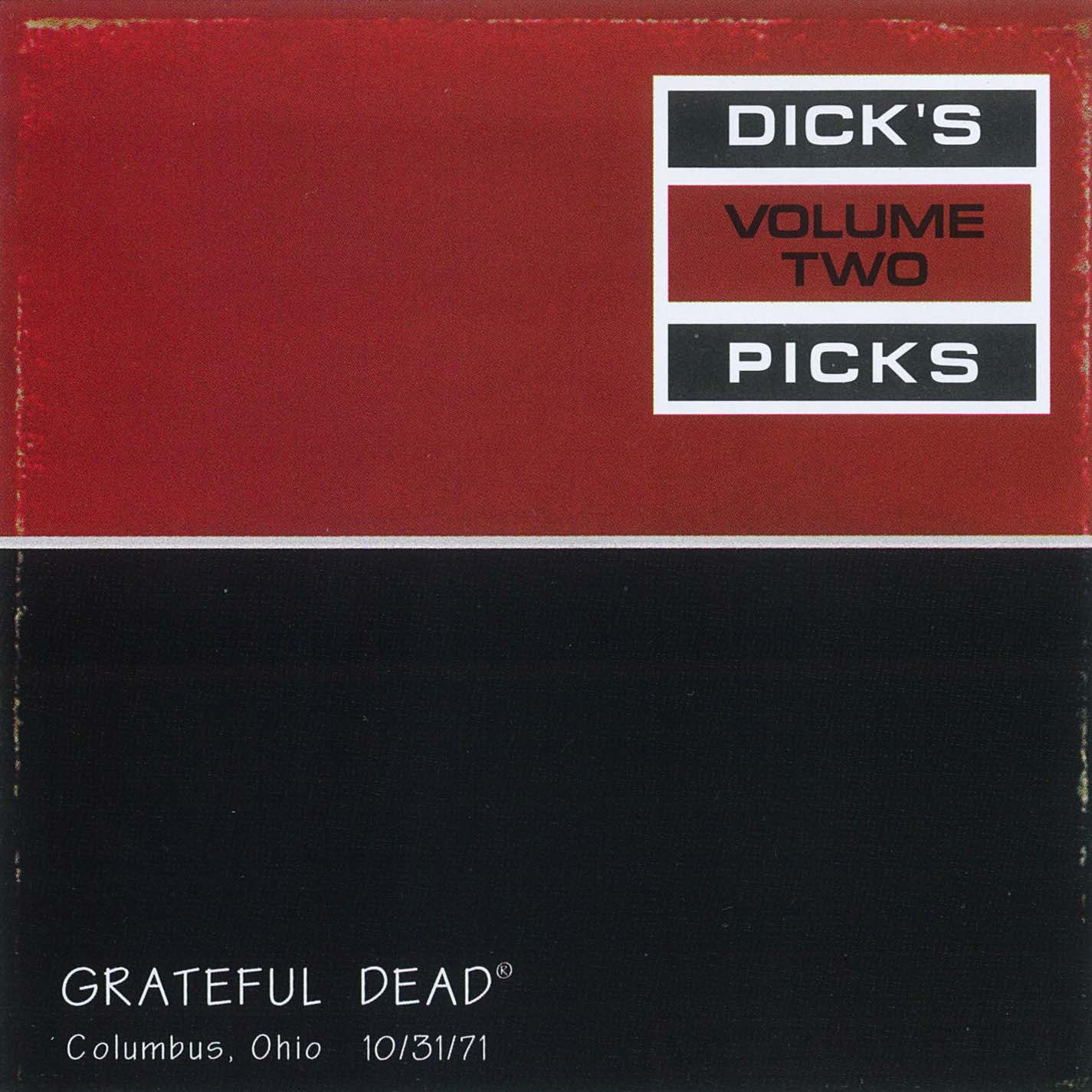 Grateful Dead Dick's Picks 2 album cover artwork