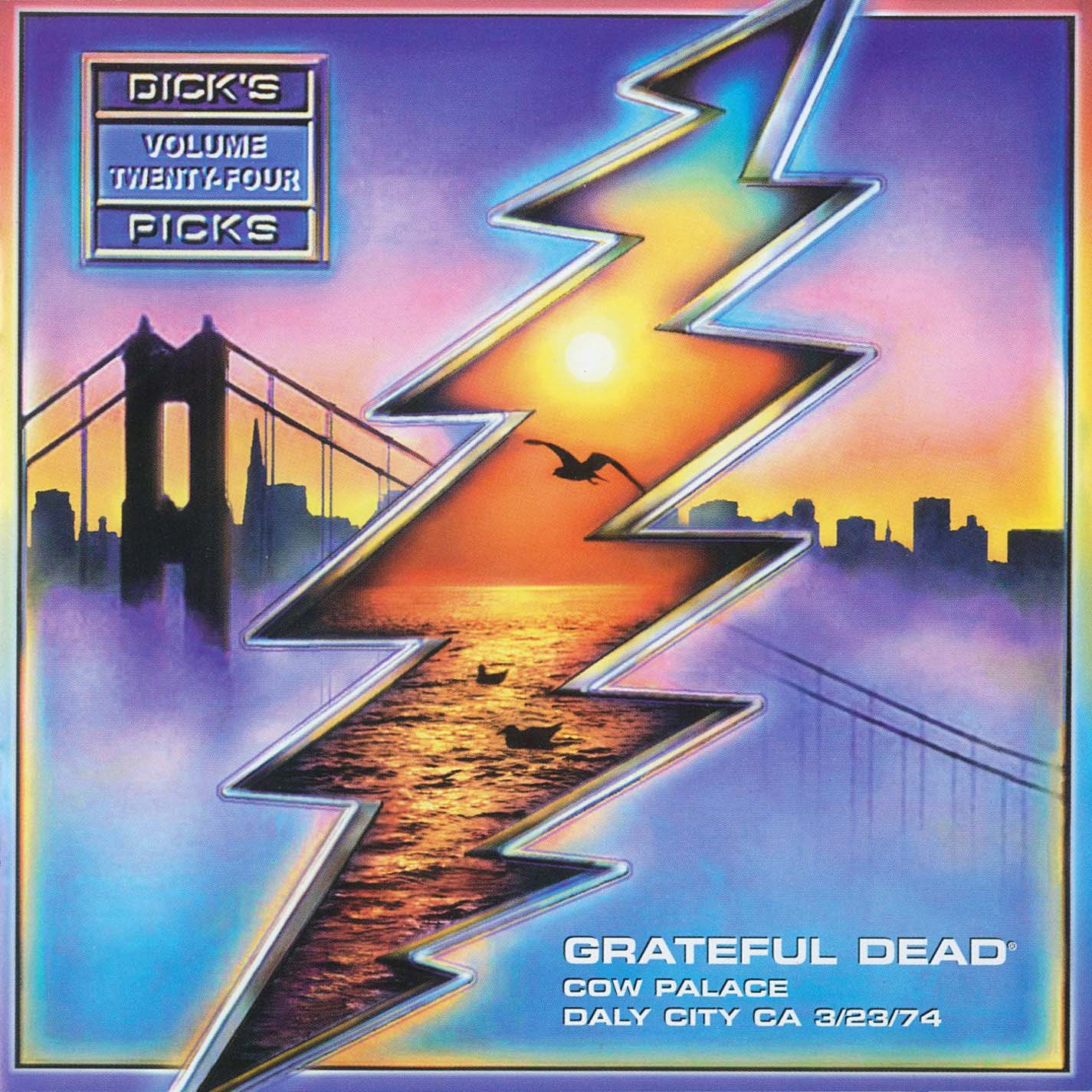 Grateful Dead Dick's Picks 24 album cover artwork