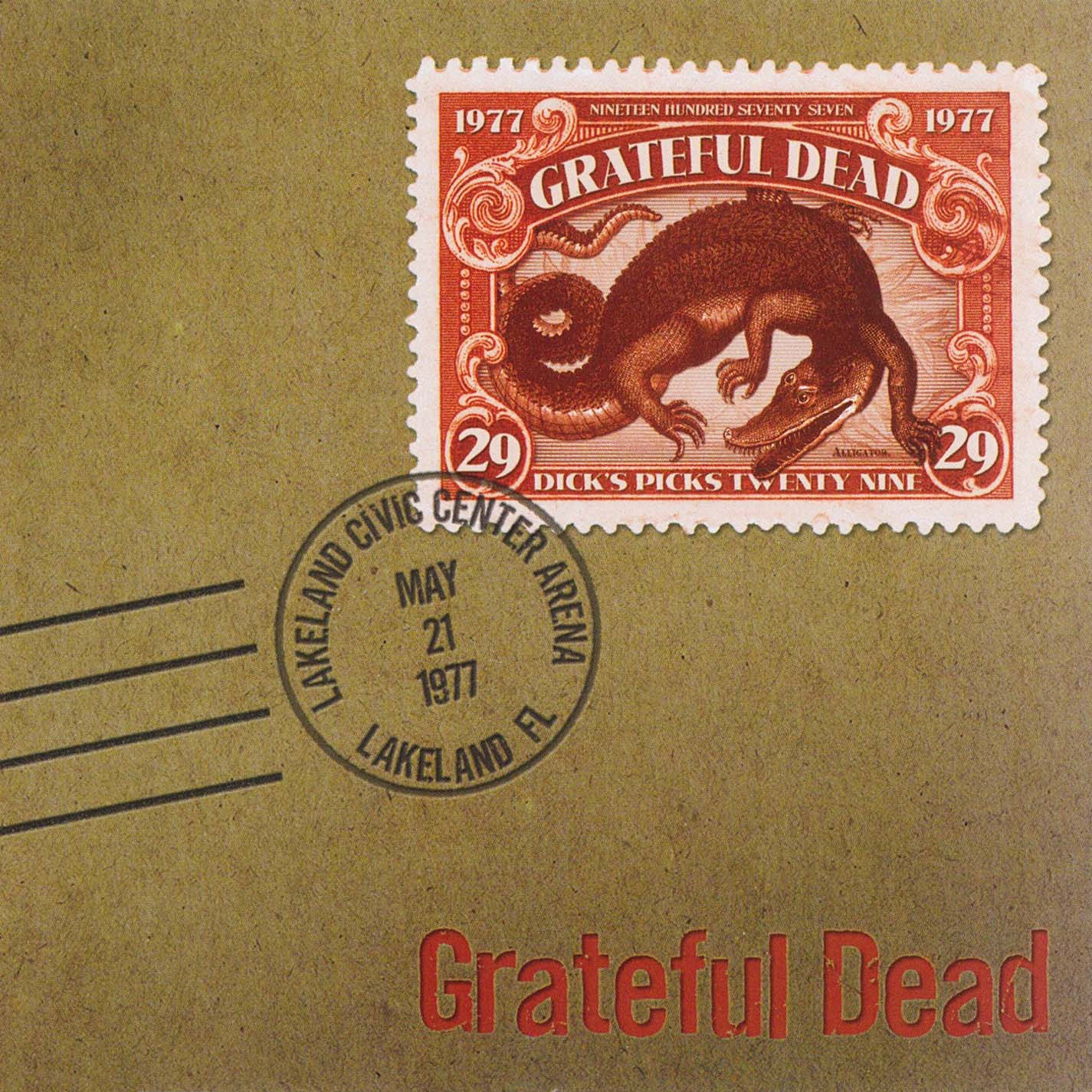 Grateful Dead Dick's Picks 29 album cover artwork