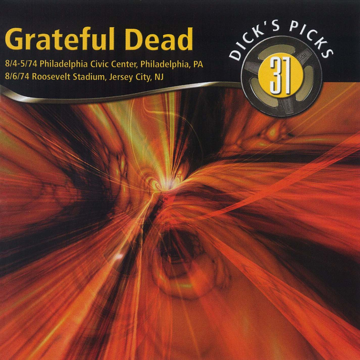 Grateful Dead Dick's Picks 31 album cover artwork