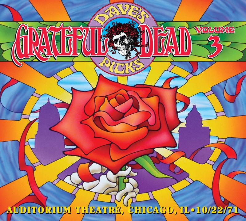 Grateful Dead Dave's Picks 3 album cover artwork