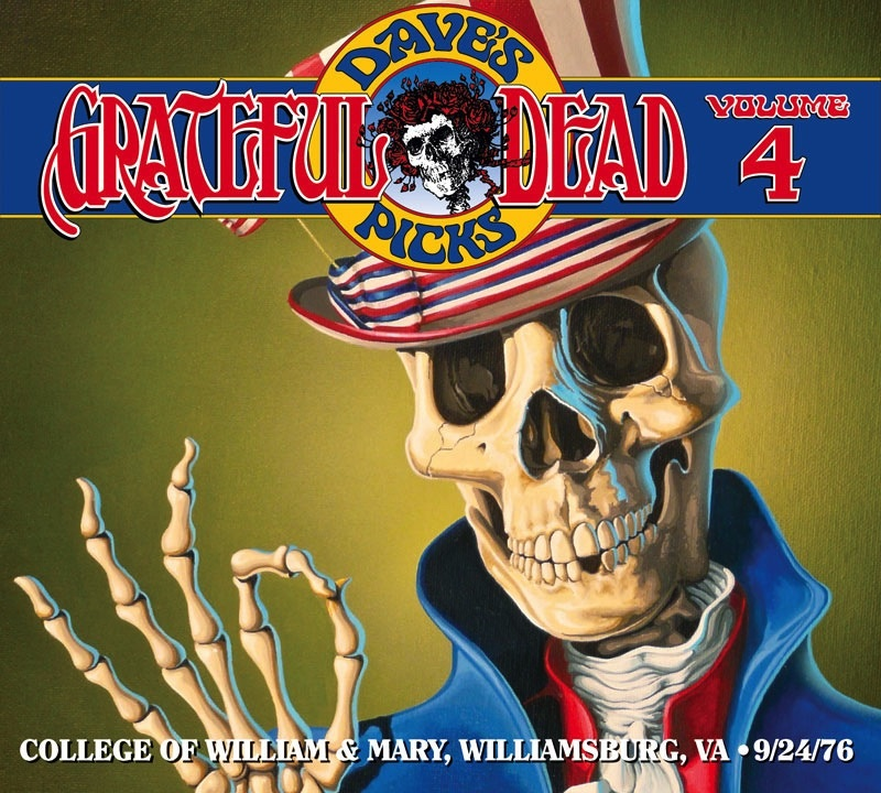 Grateful Dead Dave's Picks 4 album cover artwork