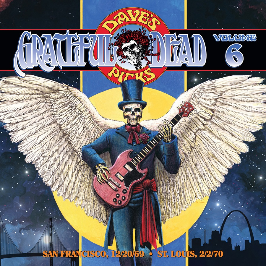 Grateful Dead Dave's Picks 6 album cover artwork
