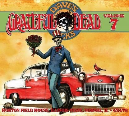 Grateful Dead Dave's Picks 7 album cover artwork