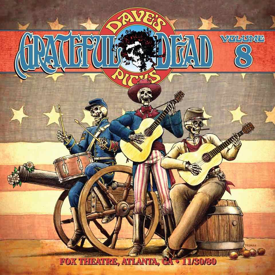 Grateful Dead Dave's Picks 8 album cover artwork