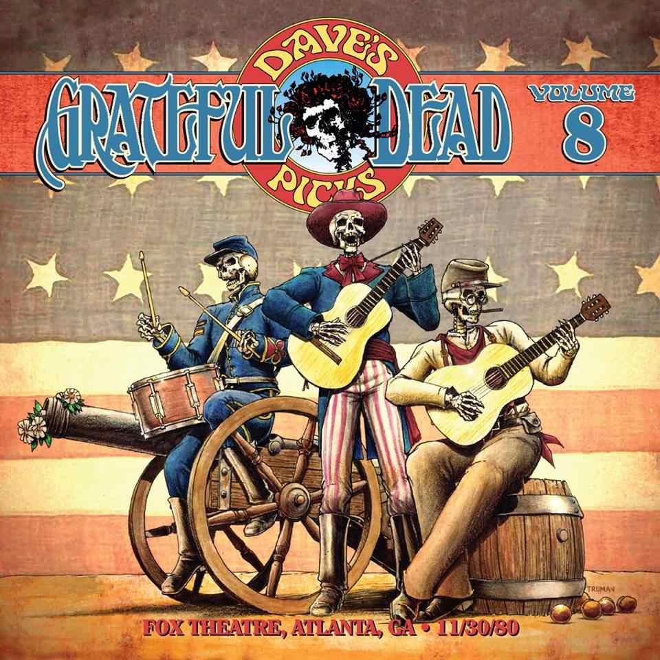 Grateful Dead Dave's Picks 8 album cover artwork