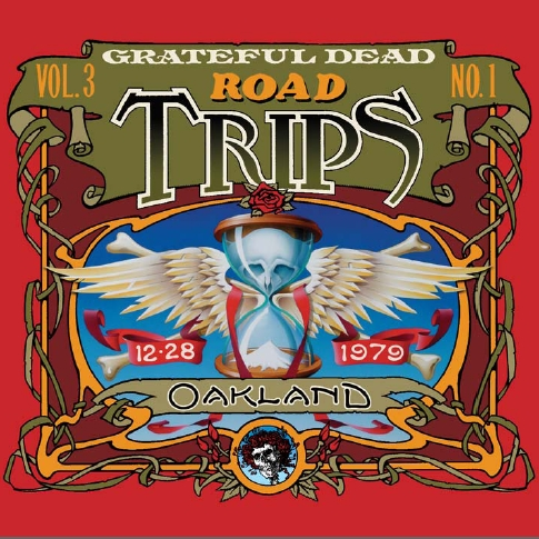 Grateful Dead Road Trips 3.1 album cover artwork