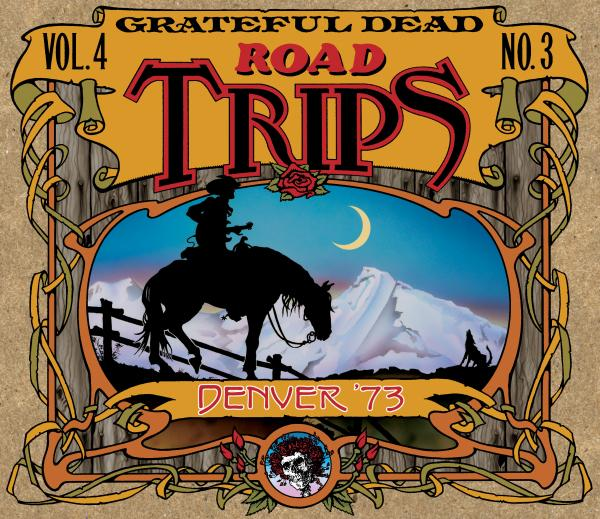 Grateful Dead Road Trips 4.3 album cover artwork