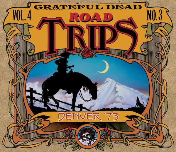 Grateful Dead Road Trips 4.3 album cover artwork