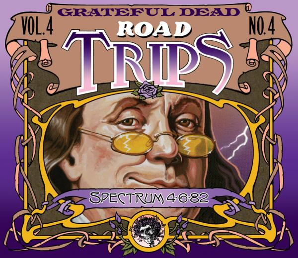 Grateful Dead Road Trips 4.4 album cover artwork