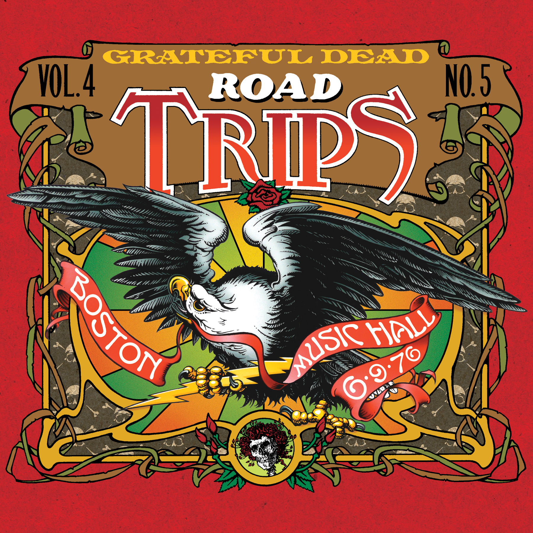 Grateful Dead Road Trips 4.5 album cover artwork
