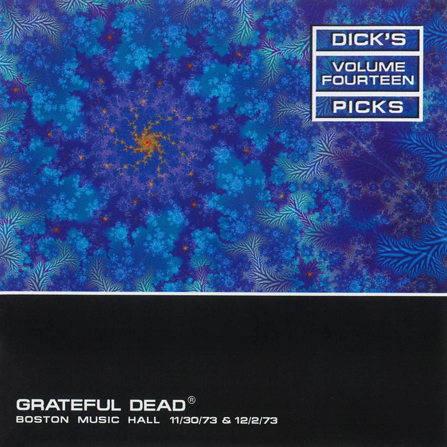 Grateful Dead Dick's Picks 14 album cover artwork