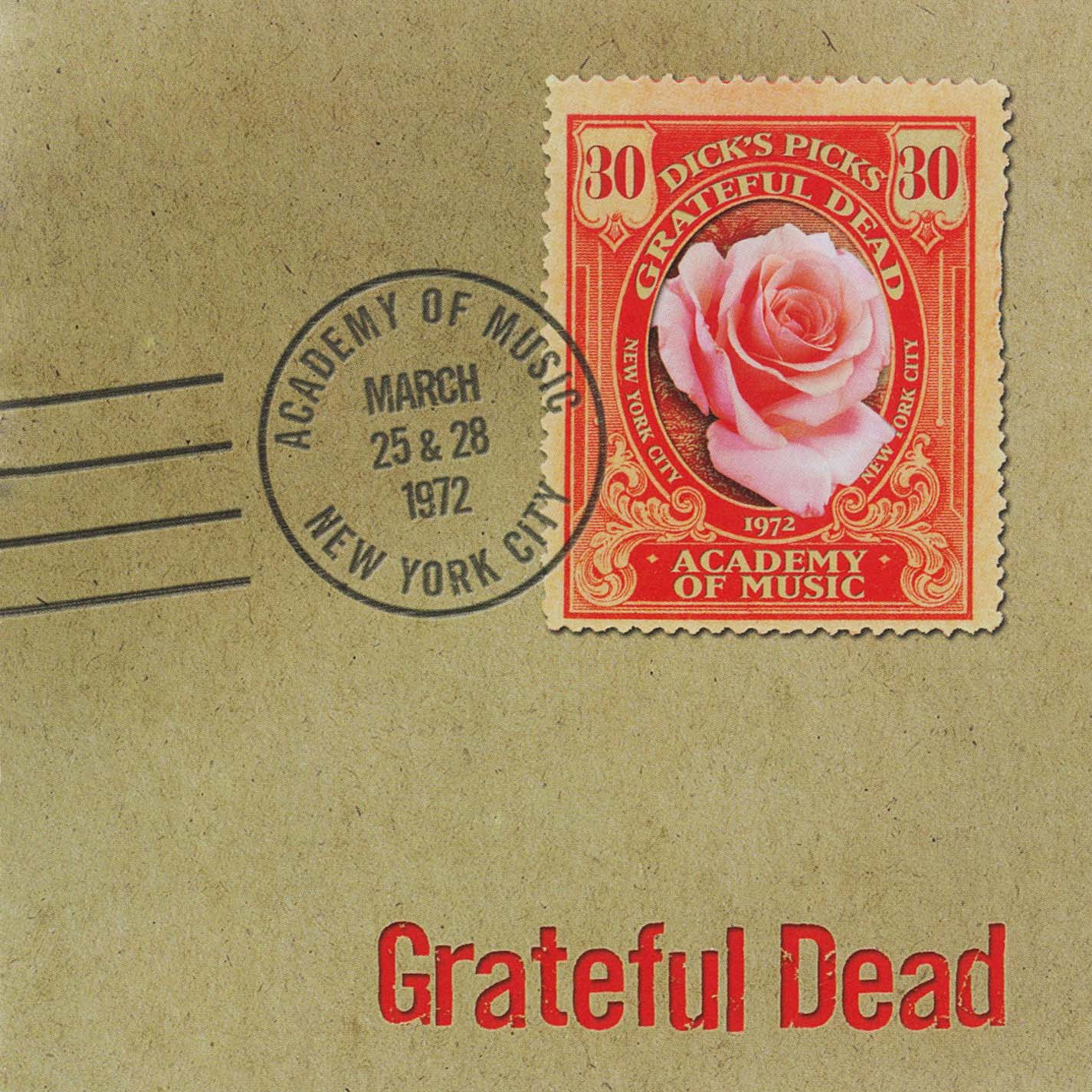 Grateful Dead Dick's Picks 30 album cover artwork