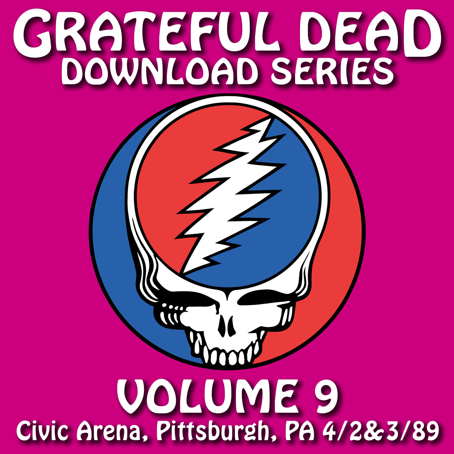 Grateful Dead Download Series 9 album cover artwork