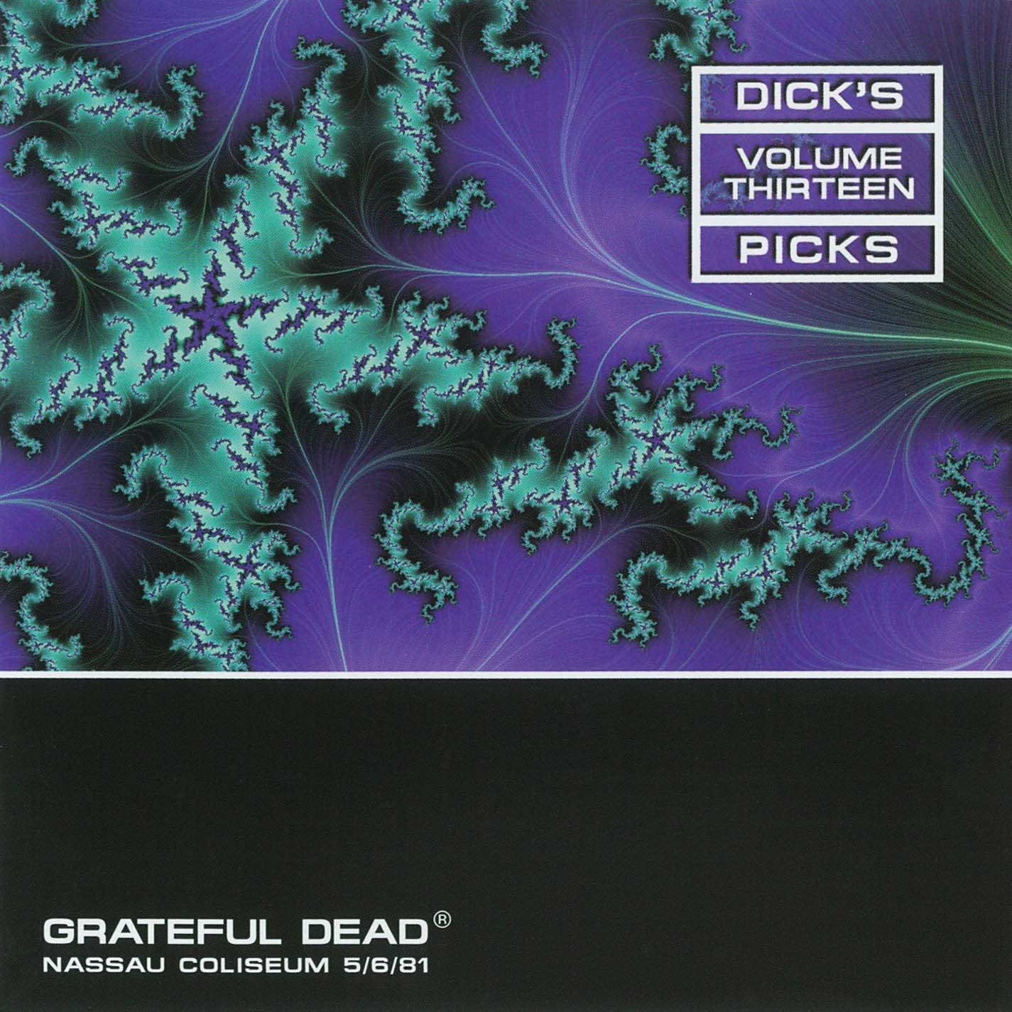 Grateful Dead Dick's Picks 13 album cover artwork