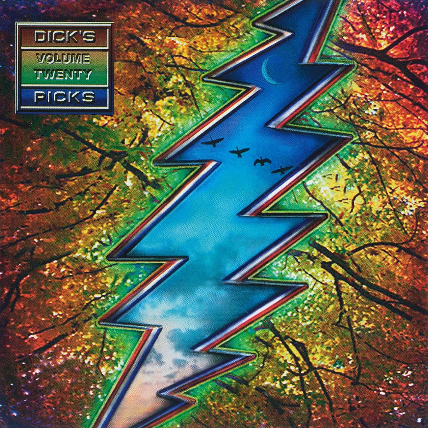 Grateful Dead Dick's Picks 20 album cover artwork