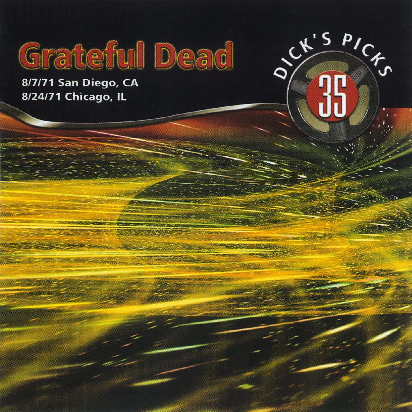 Grateful Dead Dick's Picks 35 album cover artwork