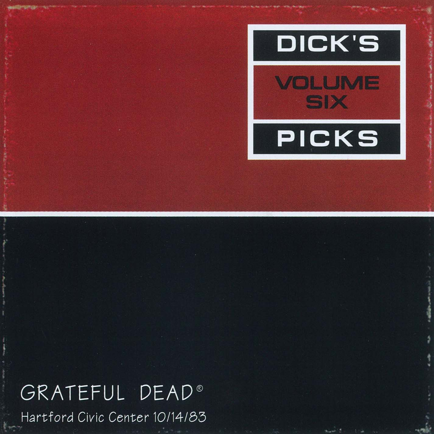 Grateful Dead Dick's Picks 6 album cover artwork