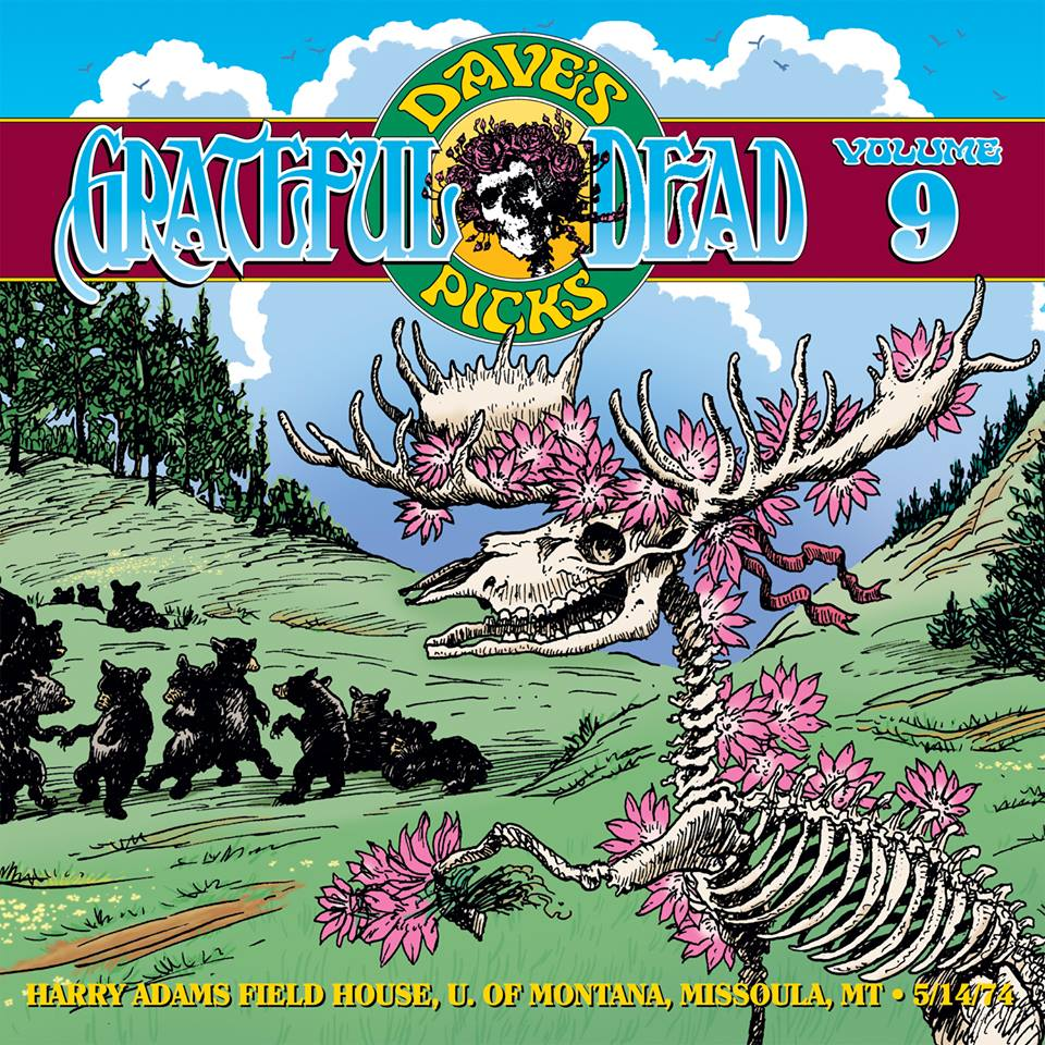 Grateful Dead Dave's Picks 9 album cover artwork