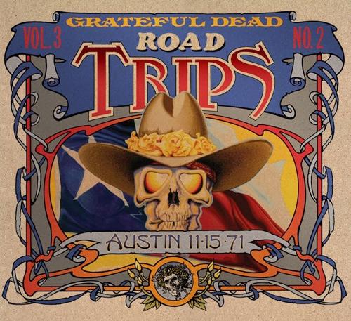 Grateful Dead Road Trips 3.2 album cover artwork