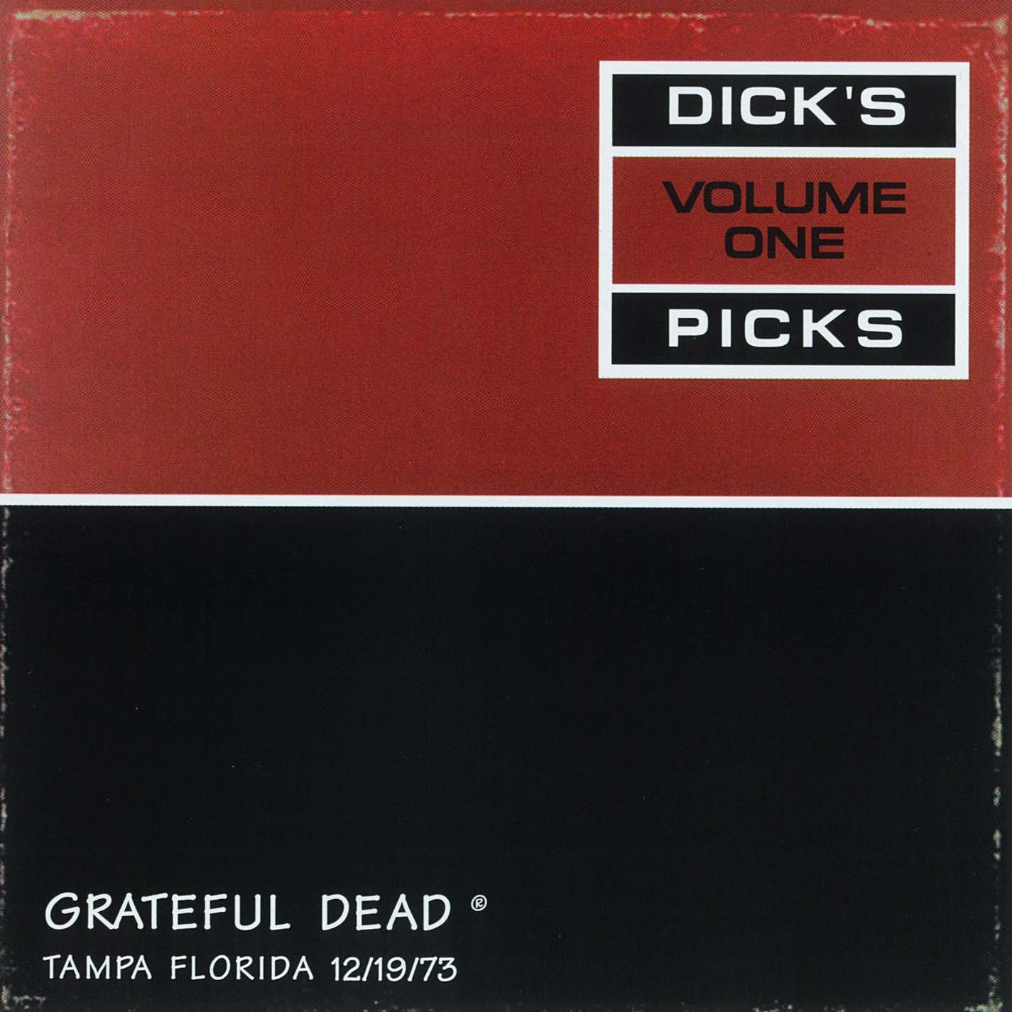 Grateful Dead Dick's Picks 1 album cover artwork