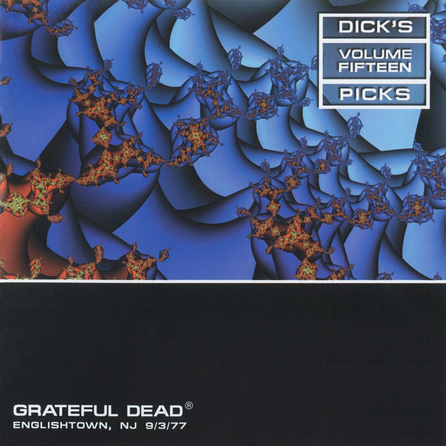 Grateful Dead Dick's Picks 15 album cover artwork