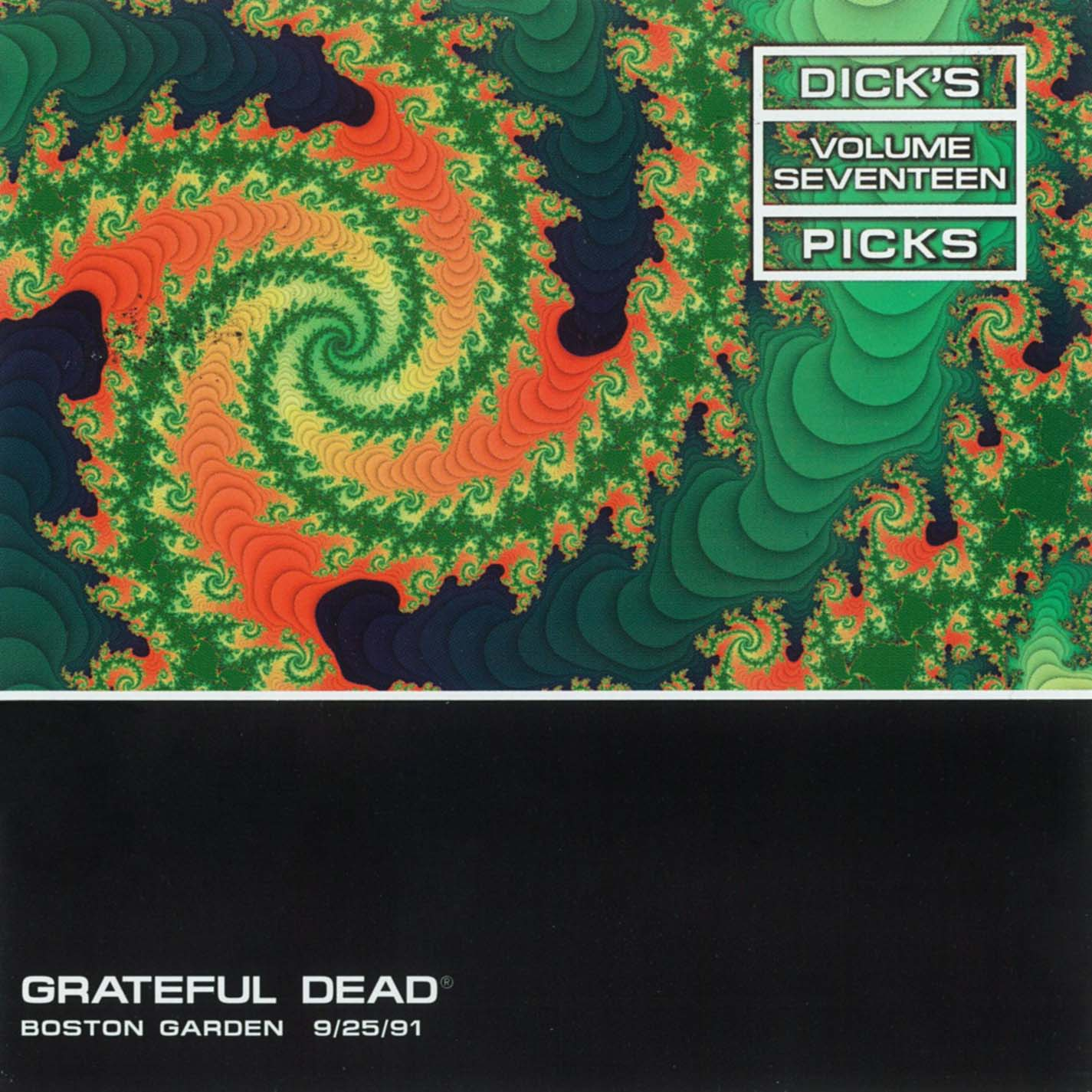 Grateful Dead Dick's Picks 17 album cover artwork