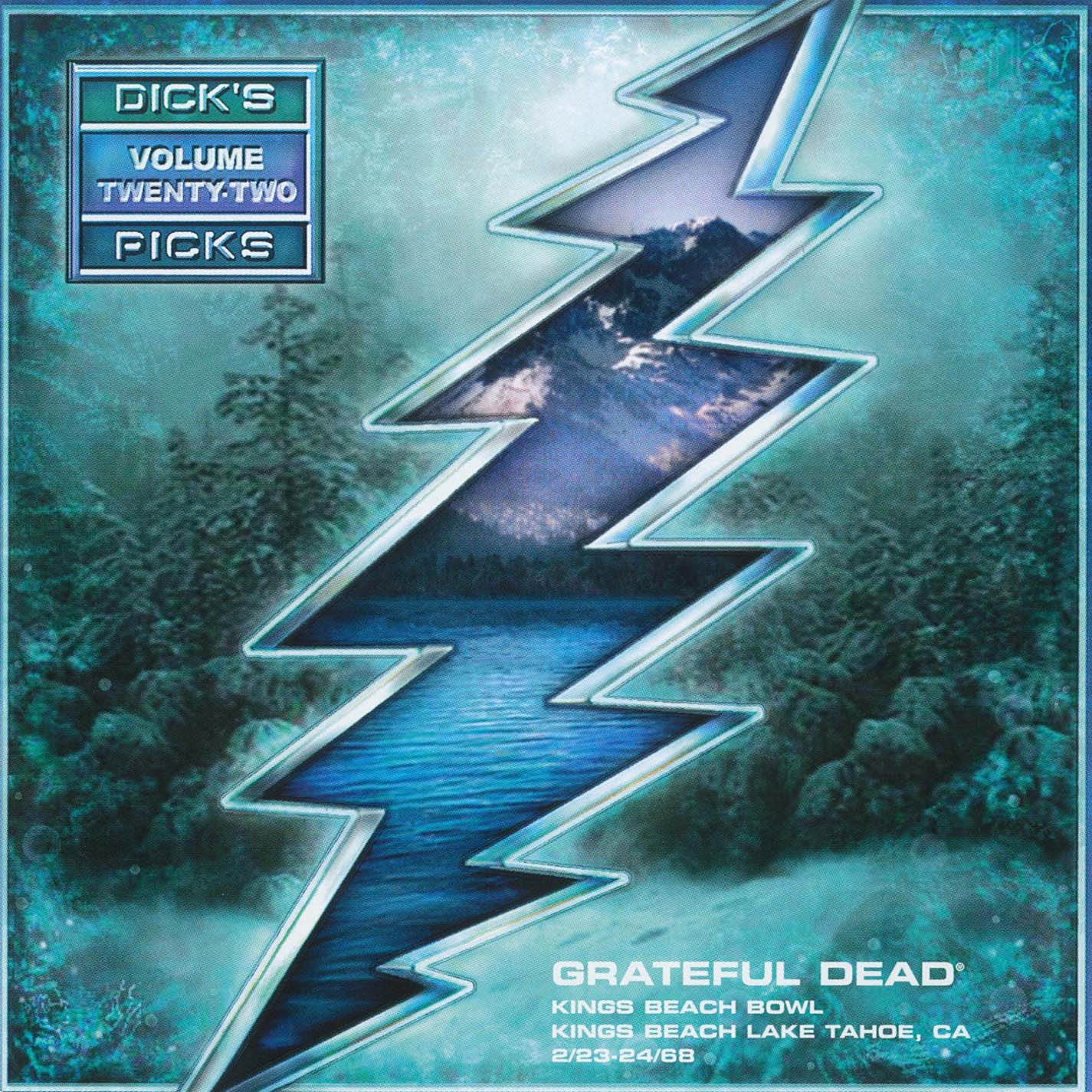 Grateful Dead Dick's Picks 22 album cover artwork