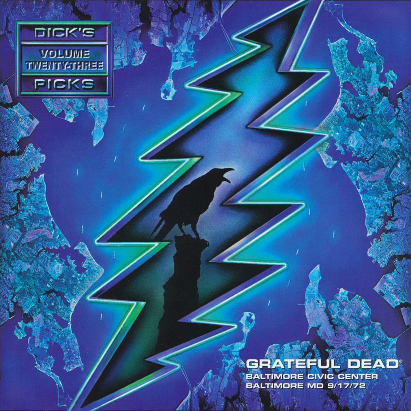 Grateful Dead Dick's Picks 23 album cover artwork
