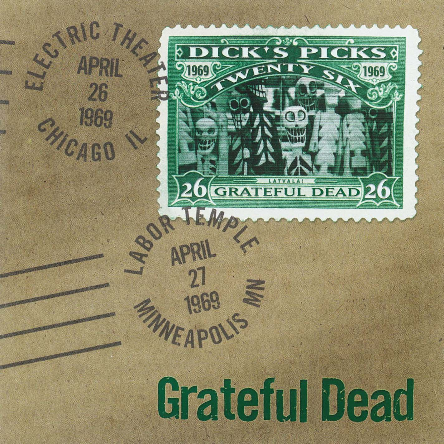 Grateful Dead Dick's Picks 26 album cover artwork