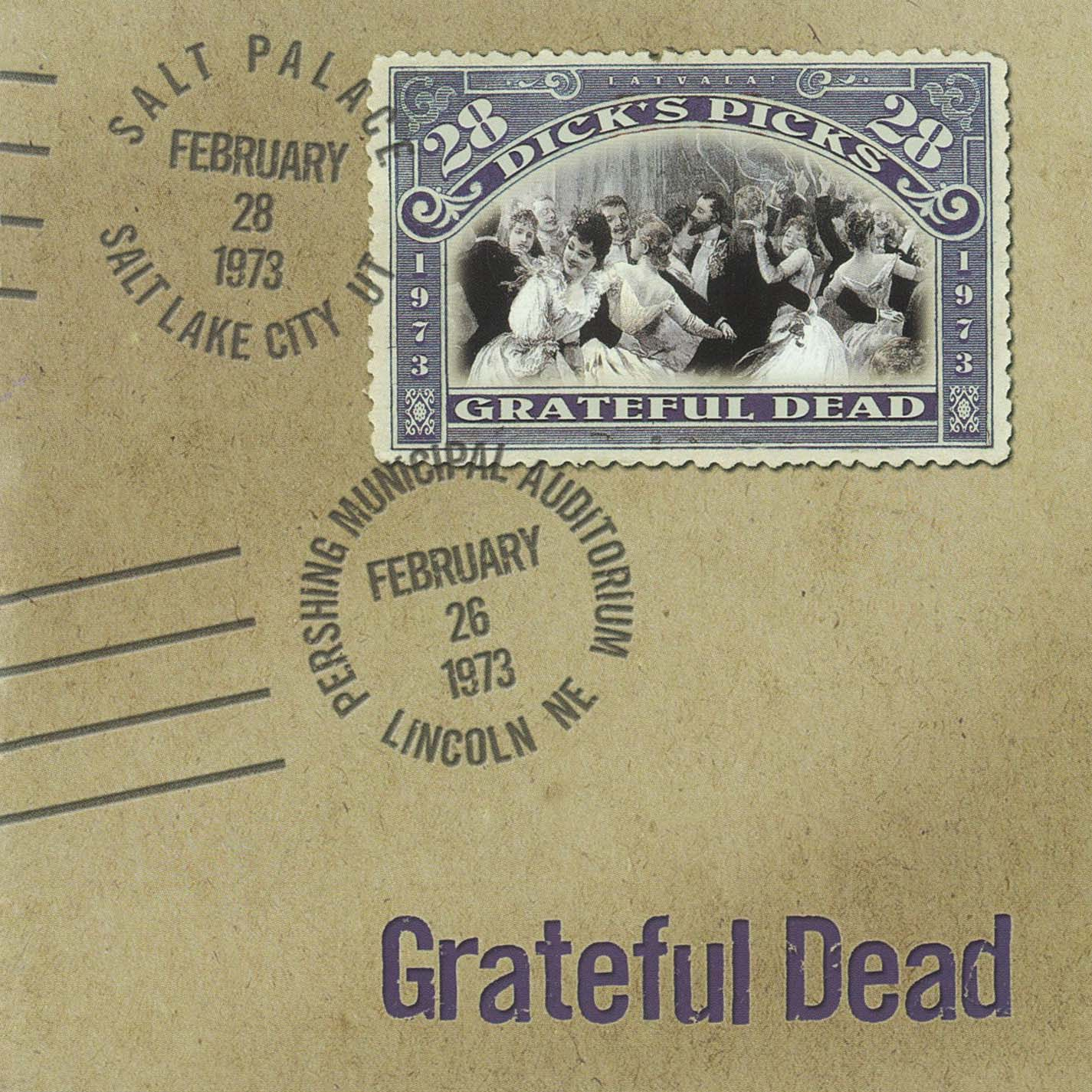 Grateful Dead Dick's Picks 28 album cover artwork