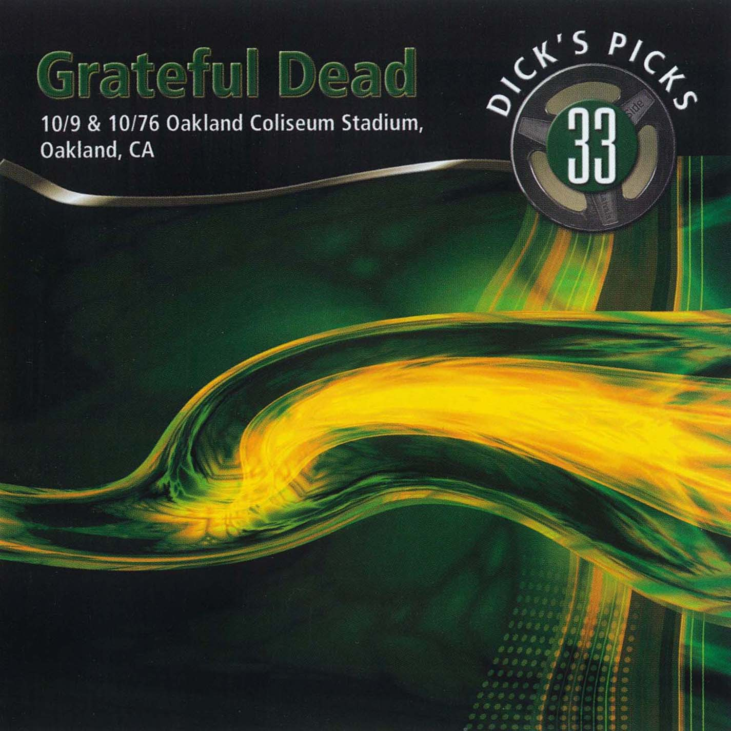 Grateful Dead Dick's Picks 33 album cover artwork