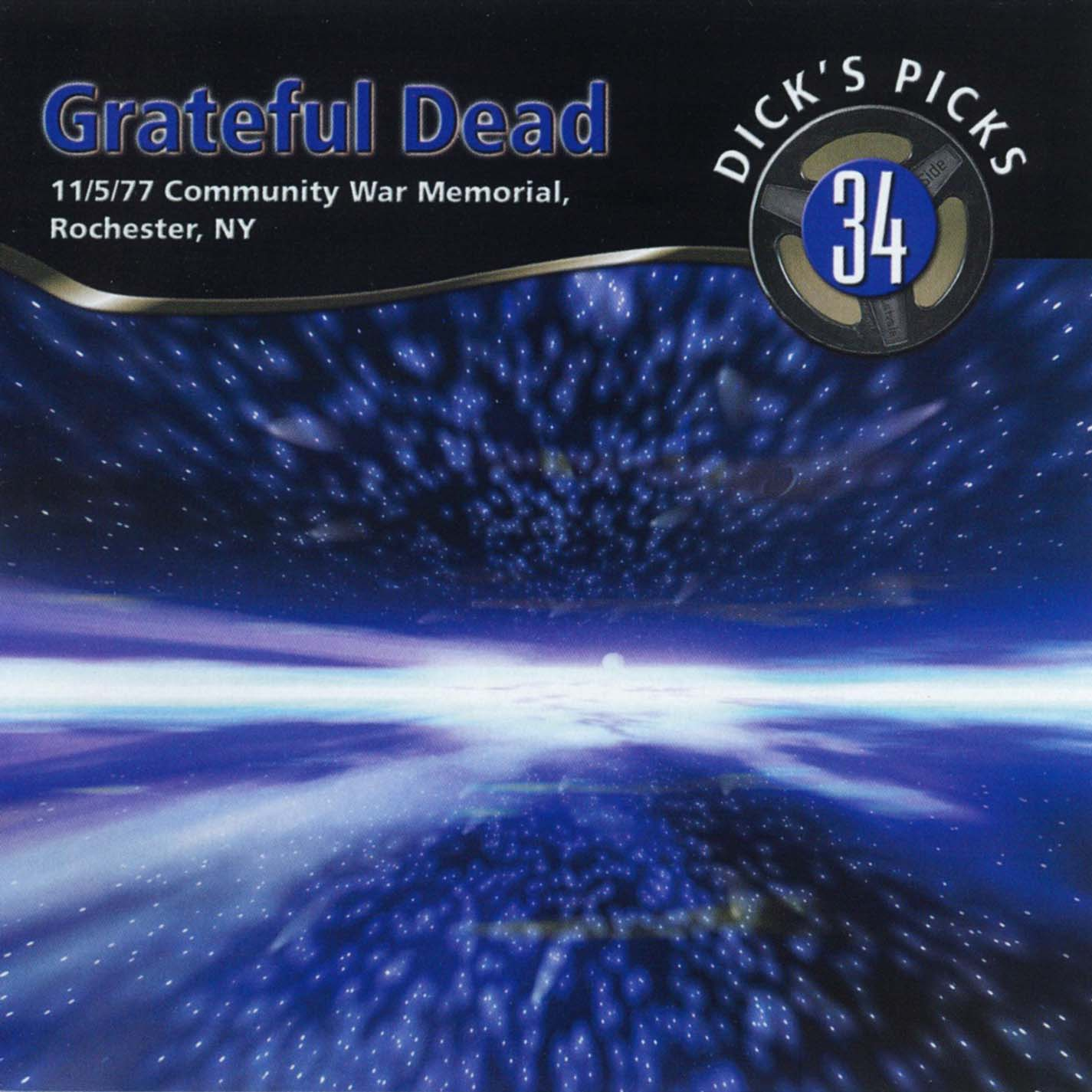 Grateful Dead Dick's Picks 34 album cover artwork