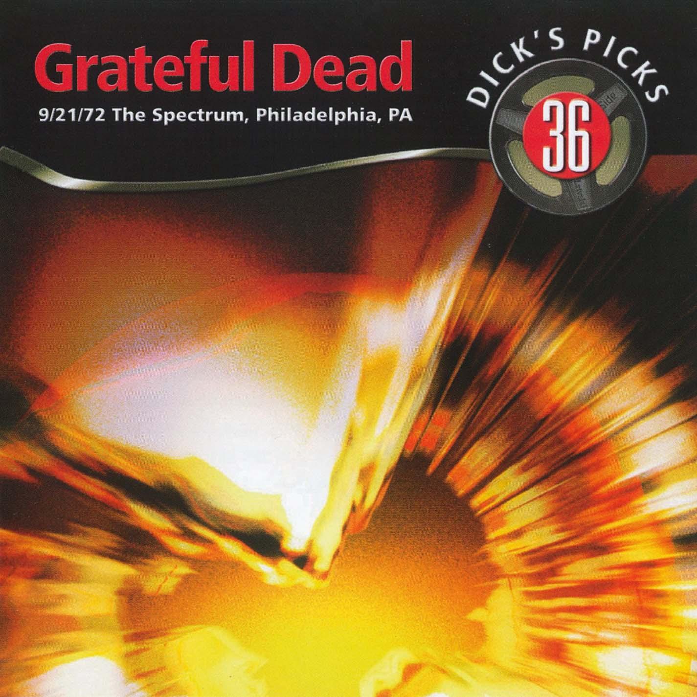 Grateful Dead Dick's Picks 36 album cover artwork