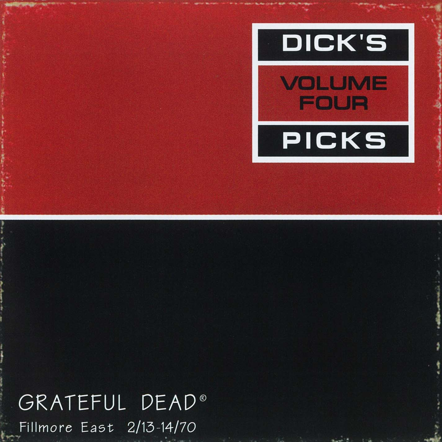Grateful Dead Dick's Picks 4 album cover artwork