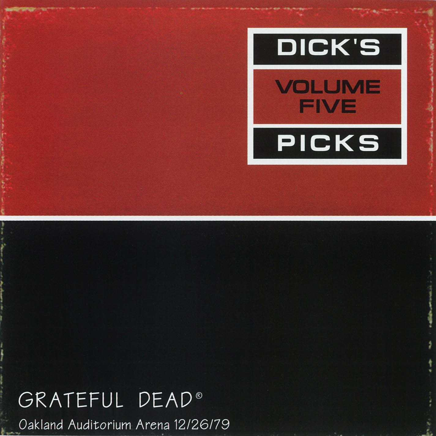 Grateful Dead Dick's Picks 5 album cover artwork