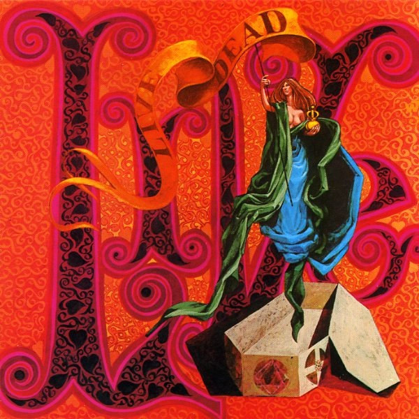 Grateful Dead Live/Dead album cover artwork