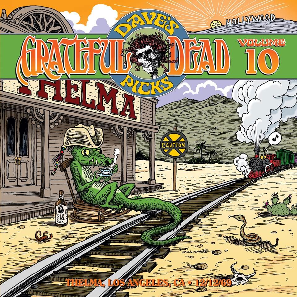 Grateful Dead Dave's Picks 10 album cover artwork