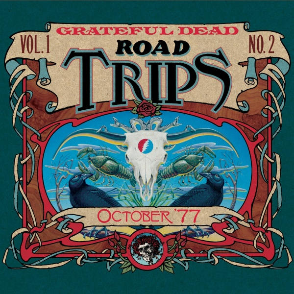 Grateful Dead Road Trips 1.2 album cover artwork